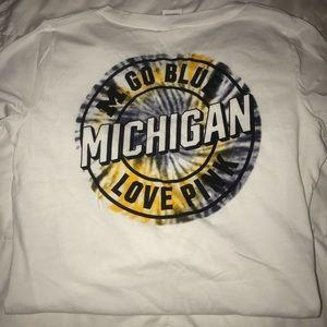 NWOT Pink Michigan Shirt